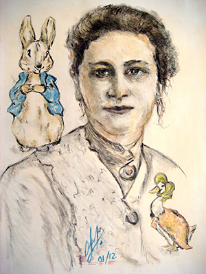 Beatrix_potter_petter_rabbit_and_mrs_puddle_duck_by_oliviawaste-300